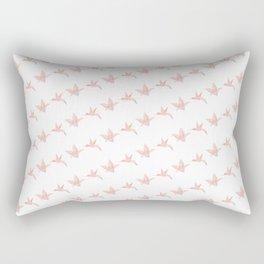 Origami Hummingbird Rectangular Pillow