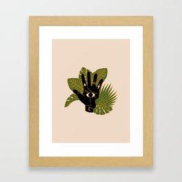 Mystic Hand Framed Art Print