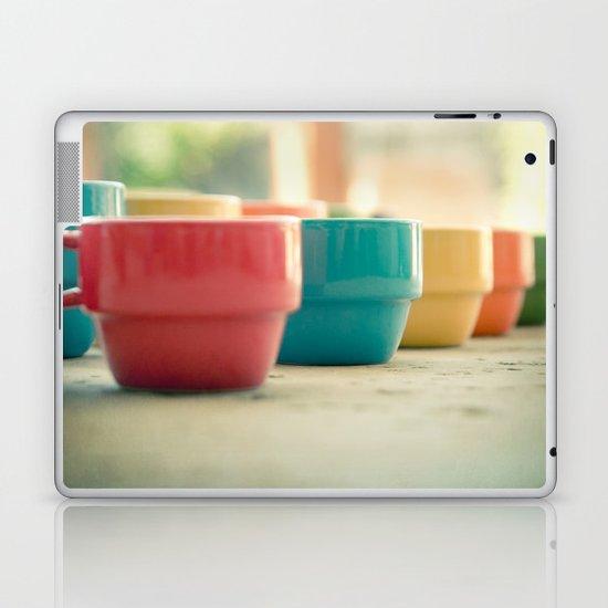 Rainbow Mugs Laptop & iPad Skin