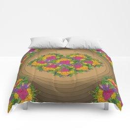 Flowers of Love Comforters