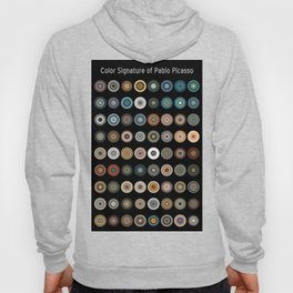 Color Signature of Pablo Picasso Hoody