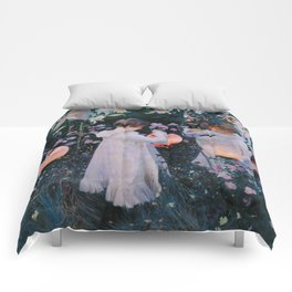Carnation, Lily, Lily, Rose - John Singer Sargent Comforters