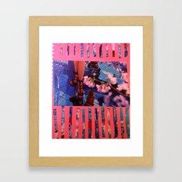 Glass floor Framed Art Print