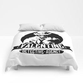 Valentine Detective Agency Comforters