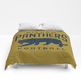 Dillon Panthers Football Comforters