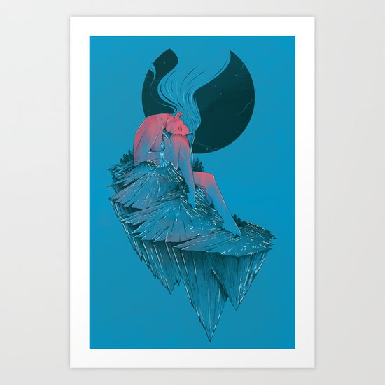 St.Helens In Rest Art Print