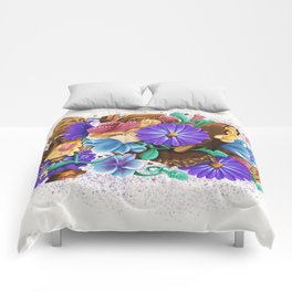 CANDY & FLOWERS Comforters