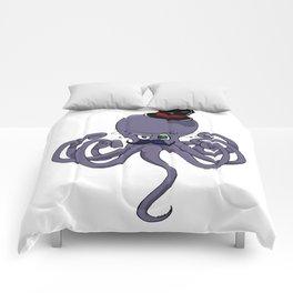 Drunken octopus wants to fight Comforters