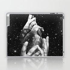 Heart says hold on Laptop & iPad Skin