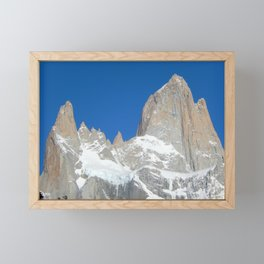 Fitz Roy and His Friends in Patagonia Framed Mini Art Print