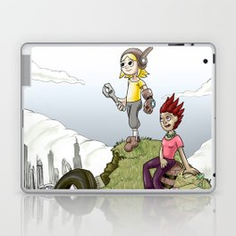 Max and Lori at the Junkyard Laptop & iPad Skin