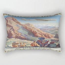 Vintage poster - Peru Rectangular Pillow
