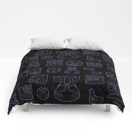 Picto-glyphs Story--Negro Comforters