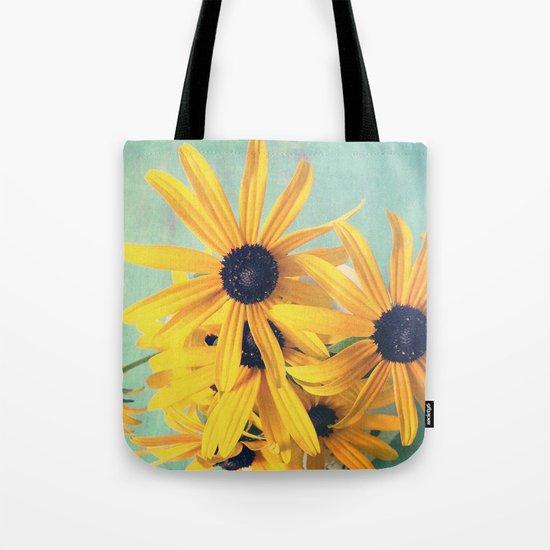 Sweet Yellow Flowers Tote Bag