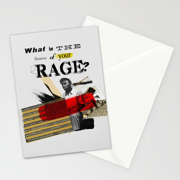 Rage Stationery Cards