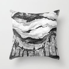All The Stars In Copenhagen Throw Pillow