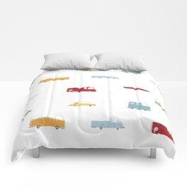 Cars Print pattern Comforters