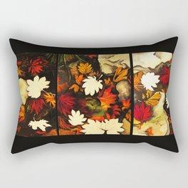 Autumn in Water -tryptich Rectangular Pillow