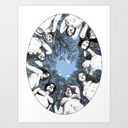 asc 783 Les piliers du ciel (The last meal) Art Print