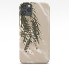 tropical palm leaves vi iPhone Case