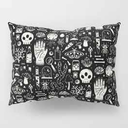Curiosities: Bone Black Pillow Sham