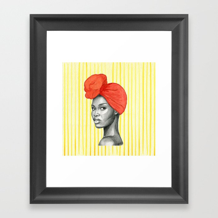 Run The World Framed Art Print