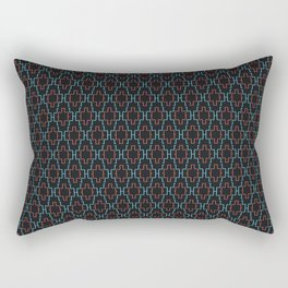 Abstract geometric surface  / The L pattern 1 Rectangular Pillow