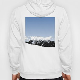 Mountains essentials - Snow and bright sky Hoody