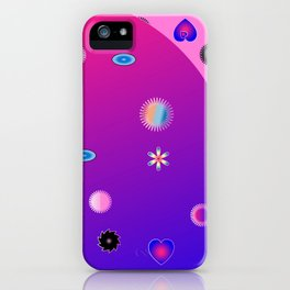abstract fantasy world iPhone Case