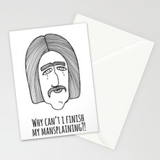 Mansplaining Stationery Cards