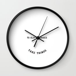Its Hard to Explain Puns Funny Humorous Statement Gifts Wall Clock