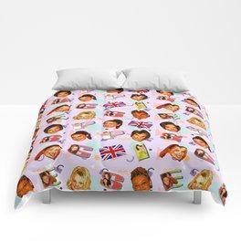 Spice Girls pattern art Comforters