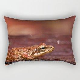 The little frog Rana iberica Rectangular Pillow