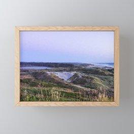 Evening Settling In Framed Mini Art Print