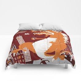 Dinosaur Smash Comforters