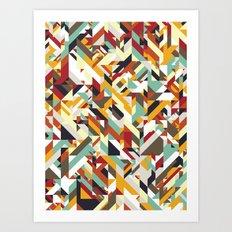Native Geometric Art Print