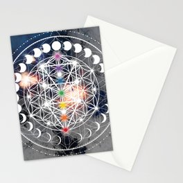 We Are Beings Of Light Stationery Cards