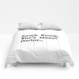 Knock-Knock 2 Comforters