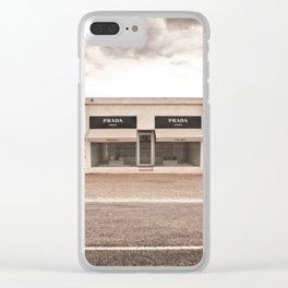 Marfa Clear iPhone Case
