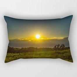 Spark Through the Sky Rectangular Pillow