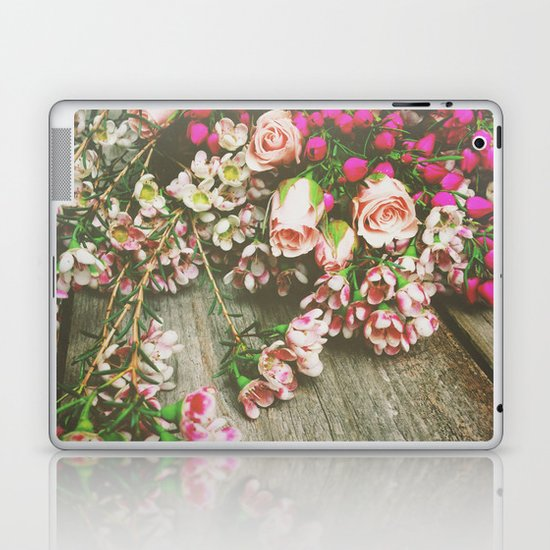 She Had a Spirit That Was Wild and Free Laptop & iPad Skin