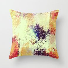 Slow Burn Throw Pillow