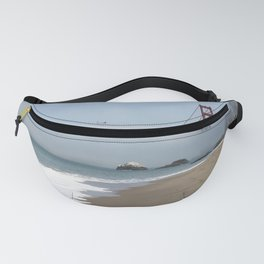 Another Foggy Day In San Francisco Fanny Pack