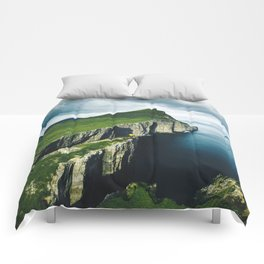 on top of faroe islands Comforters