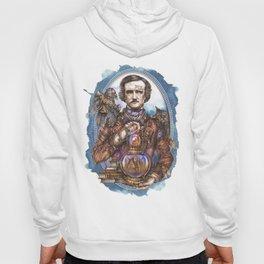 Mr. NeverMore (Edgar Allan Poe portrait) Hoody
