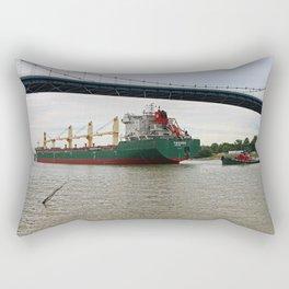 Pochards Under the Anthony Wayne Rectangular Pillow