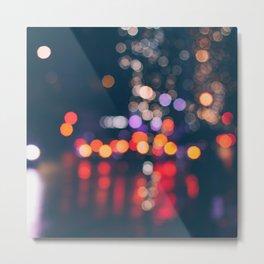 BRIGHT LIGHTS BIG CITY Metal Print