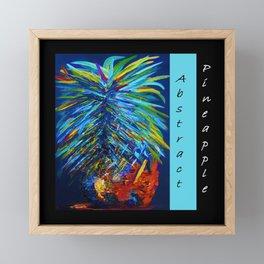 Abstract Pineapple Framed Mini Art Print