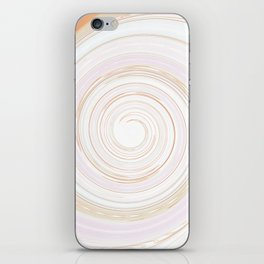 Re-Created Spin Painting No. 50 by Robert S. Lee iPhone Skin