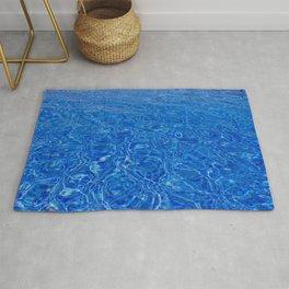 Pool Water Rug